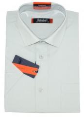 Goldenland rövidujjú ing - Halványszürke Normál fazon