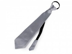 Gumis nyakkendő - Szürke
