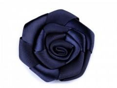 Szatén rózsa - Sötétkék