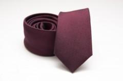 Prémium slim nyakkendő - Padlizsán