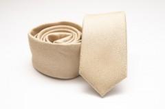 Prémium slim nyakkendő - Natúr melír