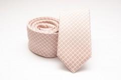 Prémium slim nyakkendő - Púder pöttyös Aprómintás nyakkendő