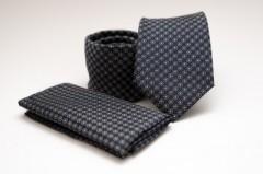 Prémium nyakkendő szett - Fekete pöttyös