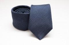 Prémium selyem nyakkendő - Sötétkék