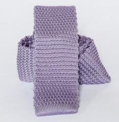 Prémium kötött nyakkendő - Lila Kötött nyakkendők