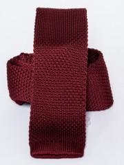 Prémium kötött nyakkendő - Bordó Kötött nyakkendők