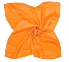 Zsorzsett szatén női kendő - Narancssárga Női kendők, sálak