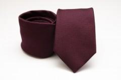 Prémium selyem nyakkendő - Burgundi