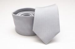 Prémium selyem nyakkendő - Halványszürke Egyszínű