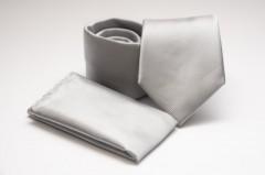 Prémium nyakkendő szett - Ezüst Szett