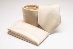 Prémium nyakkendő szett - Ecru Szett