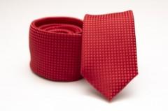 Prémium slim nyakkendő - Piros