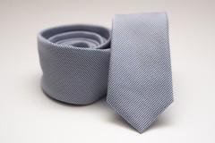 Prémium slim nyakkendő - Halványkék pöttyös Slim fazon