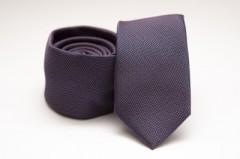 Prémium slim nyakkendő - Sötétlila Slim fazon