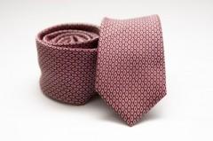 Prémium slim nyakkendő - Mályva pöttyös Aprómintás nyakkendő