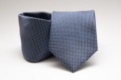 Prémium nyakkendő -  Kék aprópöttyös Aprómintás nyakkendő