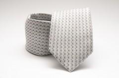 Prémium nyakkendő - Ezüst mintás