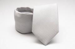 Prémium nyakkendő - Halványszürke mintás