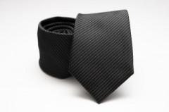 Prémium nyakkendő - Fekete csíkos