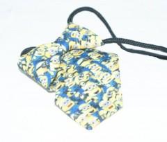 Gumis gyereknyakkendő (mini)  - Minion mintás Gyerek nyakkendők