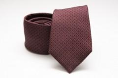 Prémium selyem nyakkendő - Sötétbordó