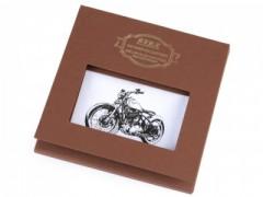 Ajándék zsebkendő szett  díszdobozban - Motor Pamut zsebkendő