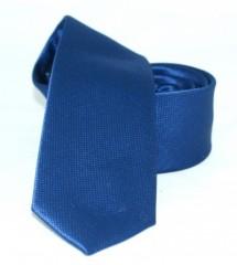 Goldenland slim nyakkendő - Kék szövött