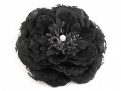 Csipke virág - Fekete