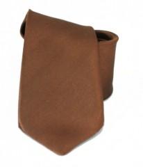 Gyerek szatén nyakkendő - Aranybarna Gyerek nyakkendők