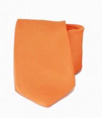 Hosszított szatén nyakkendő - Narancs Hosszított
