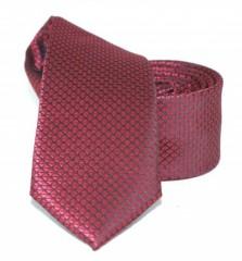 Goldenland slim nyakkendő - Bordó pöttyös