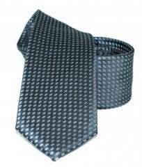 Goldenland slim nyakkendő - Fekete mintás