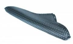 Díszzsebkendő - Fekete aprómintás