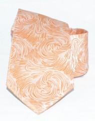 Classic prémium nyakkendő - Narancs mintás