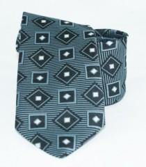 Gyereknyakkendő - Szürke mintás Gyerek nyakkendők