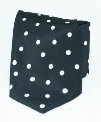 Roy  nyakkendő - Fekete pöttyös