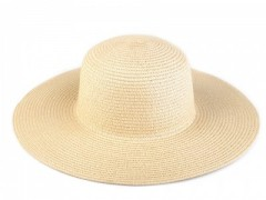 Női szalma kalap - Drapp