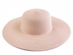 Női szalma kalap - Púder
