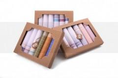 Női zsebkendő szett dobozban - 6 db Zsebkendő
