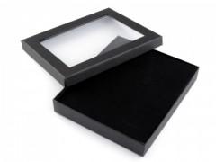 Díszdoboz - Fekete-ablakkal Ajándék csomagolás