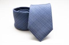 Prémium selyem nyakkendő - Kék