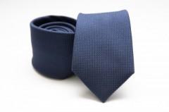 Prémium selyem nyakkendő - Sötétkék Selyem nyakkendők