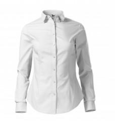 Női puplin ing hosszúujjú - Fehér