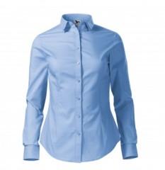 Női puplin ing hosszúujjú - Kék