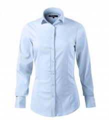 Elasztikus hosszúujjú női ing - Világoskék Női ing, póló