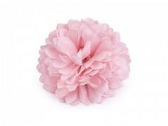 Virág kitűző - Rózsaszín