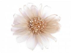 Virág kitűző - Pezsgő