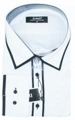 D&G Slim hosszúujjú ing - Fekete-fehér