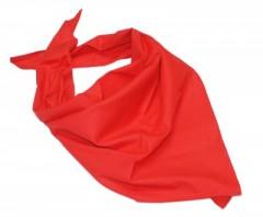 Pamutvászon női kendő - Piros