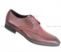 Carlo Benetti bőr cipő - Bordó Férfi bőr cipők